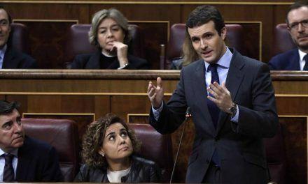 Pablo Casado se va de pesca a las 'Big Four'… y acaba con las manos vacías