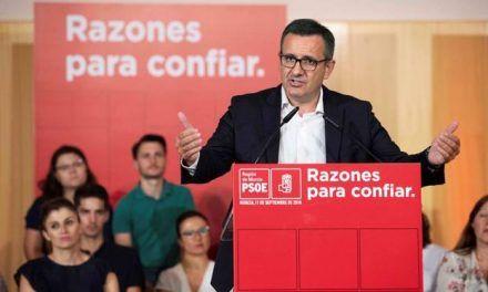 Diego Conesa confirma el trasvase para diciembre de los 38 hm3 que por ley corresponde