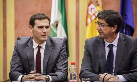 Los moderados de Ciudadanos, ante el pacto andaluz: «Podemos quedar aplastados entre PP y Vox»
