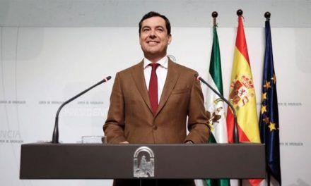 Moreno Bonilla y Rivera escenifican en Andalucía 'dos gobiernos en uno' al presentar por separado a sus consejeros