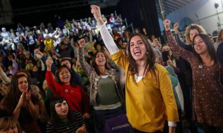 """Irene Montero, en su vuelta a la política: """"Ni una sola mujer puede quedarse en casa este 2019"""""""