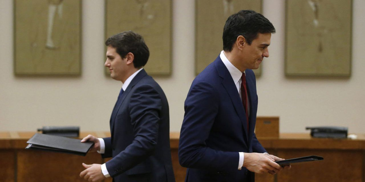 Gobierno del PSOE sin Pedro Sánchez, la oferta de los barones a Ciudadanos