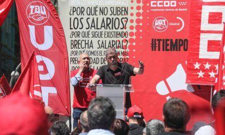 Los sindicatos convocan protestas para exigir a Sánchez que cambie ya la reforma laboral
