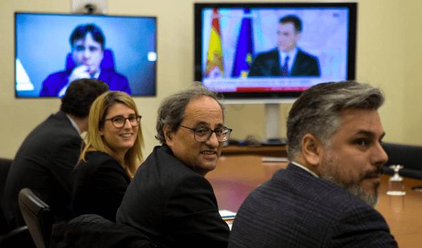 Puigdemont y el PDeCAT afrontan en pie de guerra la convocatoria electoral