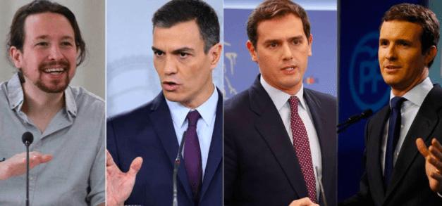 España, enfrentada en dos bloques
