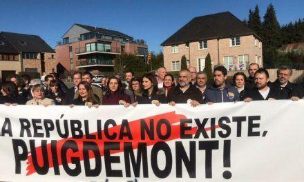 La policía belga quiere sancionar a Ciudadanos por la concentración de Arrimadas en Waterloo