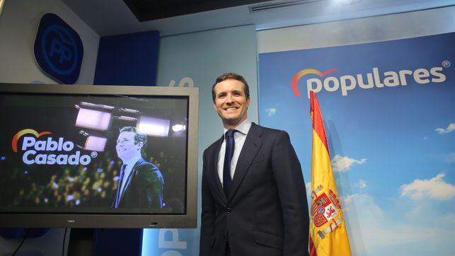 Las mentiras de Pablo Casado en su comparecencia tras la convocatoria de elecciones