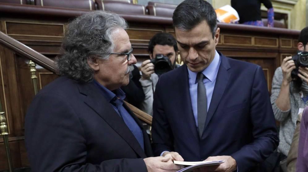 Ni Presupuesto ni elecciones: ERC y PDeCAT aspiran a que Sánchez siga pero sin su apoyo