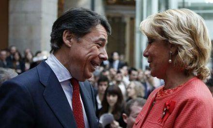 Aguirre y González dieron 100 millones de euros en contratos irregulares a empresas de Púnica y Gürtel