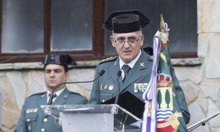 El mazarronero Antonio Campos, nuevo general jefe de la Guardia Civil en el País Vasco