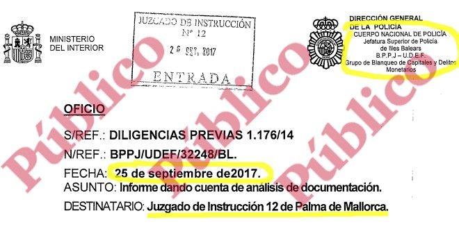 El juez de Cursach oculta un macro-informe policial sobre décadas de corrupción del PP