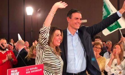 """Susana Díaz, ante Sánchez: Cs """"no tendrá más remedio que apoyarte, te lo digo por experiencia"""""""