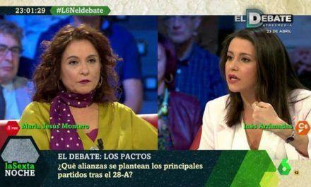 Así tumbaron Arrimadas y Uriarte a «las Montero» en un tenso debate en La Sexta