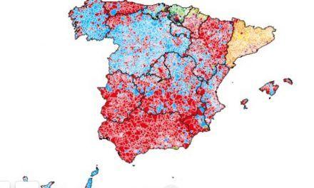 Así ha cambiado el mapa de España