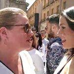 Ciudadanos Mazarrón y su líder Marisol Vivancos con Inés Arrimadas en Murcia