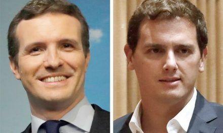 Casado y Rivera plantean una guerra fiscal contra el Gobierno: bajarán impuestos en las autonomías que gobiernen
