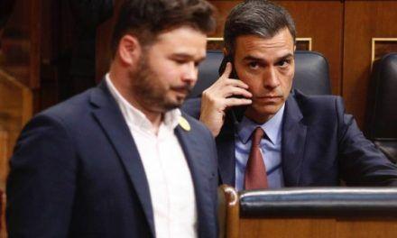 La investidura de Sanchez sólo tiene un camino: contar con la abstención de ERC