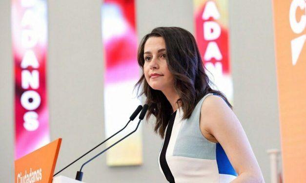 Arrimadas afirma que los pactos de Cs reciben el visto bueno de sus socios europeos