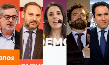 Los capitanes de los equipos negociadores en la política española
