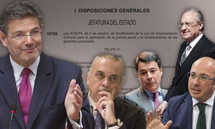 Una reforma legal del PP pone en peligro la investigación de ocho casos de corrupción