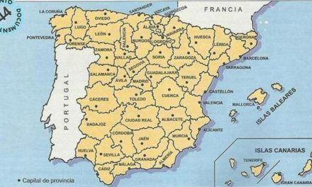 Así acabó España con su «caos» territorial en 1833 para fortalecer el poder del Gobierno central