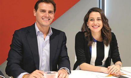 Albert Rivera e Inés Arrimadas andan sembrando el caos allá por donde pasan