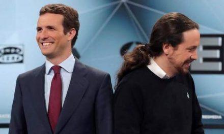 Los líderes de los principales partidos felicitan a Irene Montero y Pablo Iglesias por el nacimiento de su hija