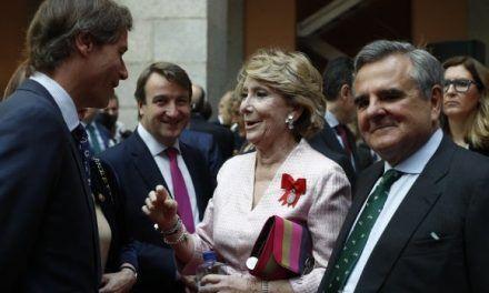 El futuro judicial de Esperanza Aguirre en Púnica, en manos de su antiguo equipo