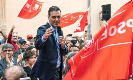 La precampaña bizca y nerviosa de Pedro Sánchez
