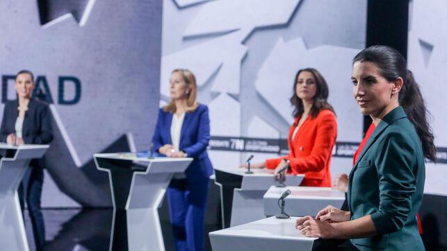 El debate de candidatas sí combate a Vox