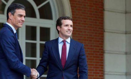 El entorno de Sánchez hace llegar a Casado que el «gobierno progresista» no está cerrado