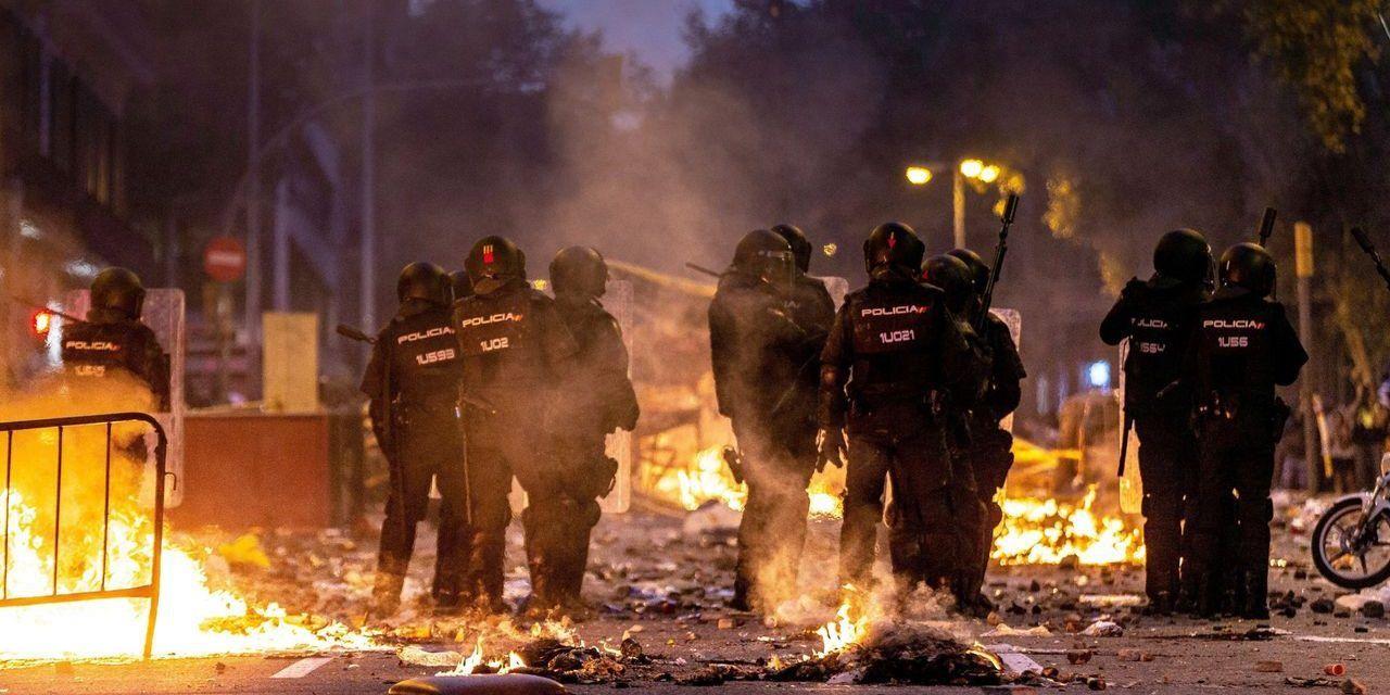 Un 75 % de los antidisturbios de toda España, desplazados como apoyo a Cataluña