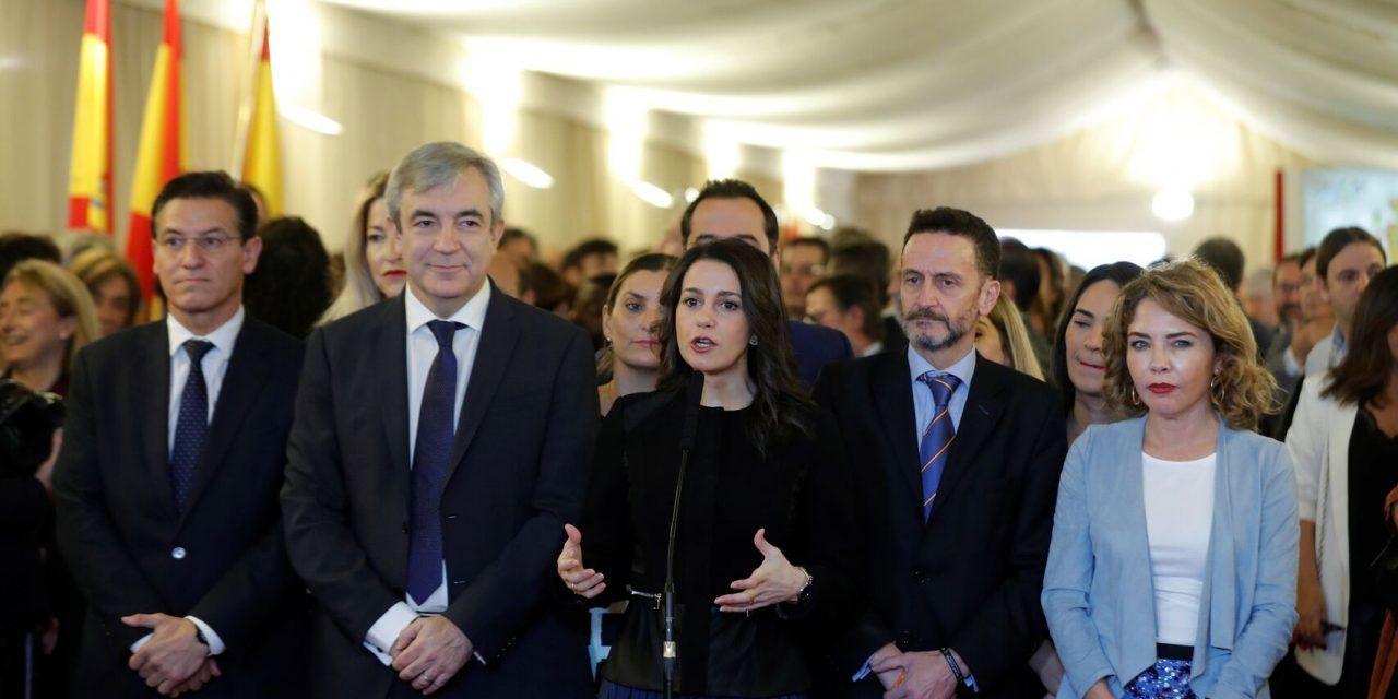 Ciudadanos responde a los cantos de sirena del PP: «El verdadero España Suma es un pacto a tres ahora»