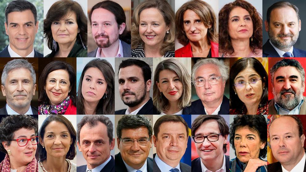 Sánchez culmina su nuevo ejecutivo