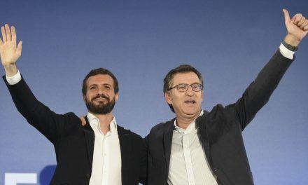 Feijoo marca territorio frente a Casado e insiste en que Ciudadanos puede integrarse en su lista en Galicia, pero sin alianzas