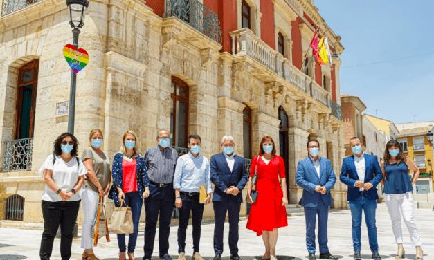 VISITA OFICIAL DE LA VICEPRESIDENTA REGIONAL, ISABEL FRANCO AL AYUNTAMIENTO DE MAZARRÓN