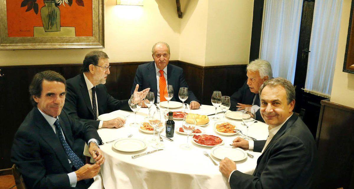 Festejando a Aznar