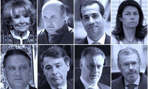 """Los lustros de corrupción que """"destrozaron"""" al PP de Madrid"""