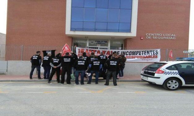 LA POLICÍA DE LAS TORRES SE REBELA Y GRITA ¡BASTA!