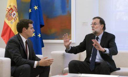 Rajoy desoye a Rivera en una nueva reunión en Moncloa y descarta aplicar el artículo 155