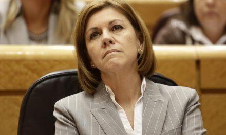Cospedal medita su futuro político tentada por la lista al Parlamento europeo