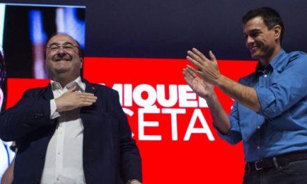 Casi todo el PSOE desembarcará en Catalunya en apoyo de Iceta