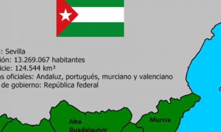 Constituida la República Virtual de Andalucía junto Murcia, el Algarve y el Rif marroquí