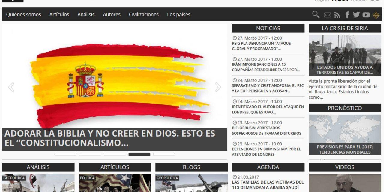 La propaganda rusa crea webs para la ultraderecha española