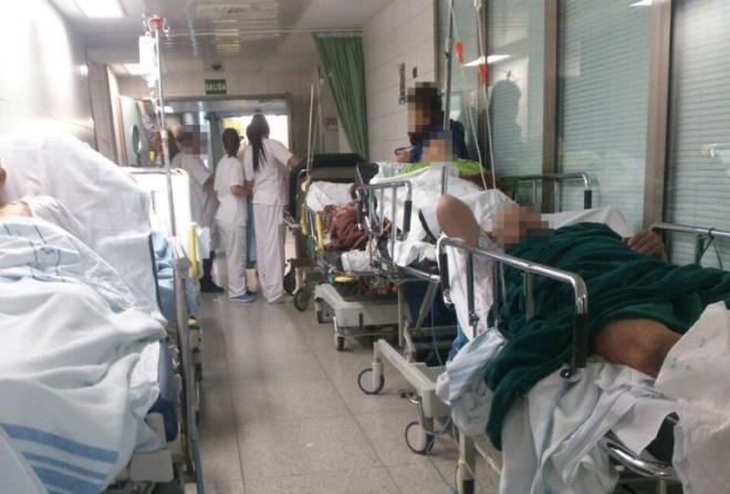 El Colegio de Médicos habla de «caos y colapsos»