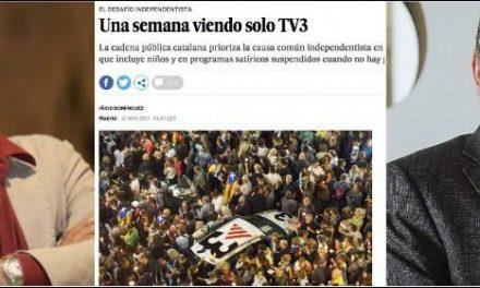 Brutal contraataque de El País por los intentos censores de TV3: «Quieren suspender el ejercicio del oficio para beneficiar a los que jalean constantemente»