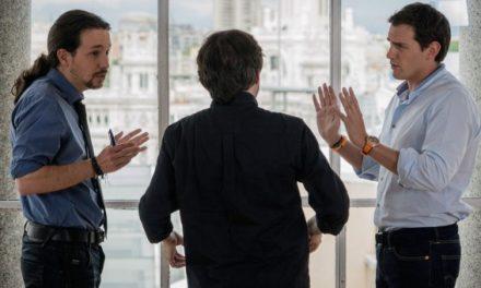 Iglesias y Rivera acuerdan negociar una reforma de la ley electoral