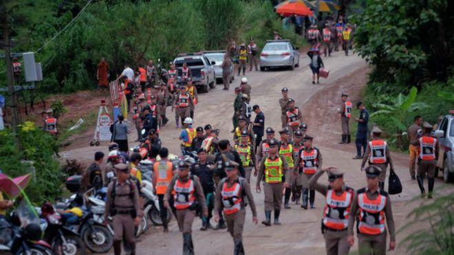 El milagro de la cueva de Tailandia está en camino