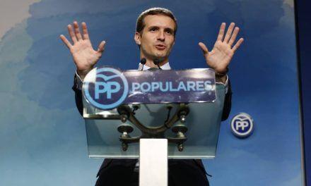 Pablo Casado retuerce los datos ante los líderes 'populares' europeos para acusar al Gobierno de crear «la crisis migratoria más importante de la última década»