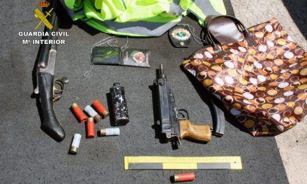 Cinco detenidos en Mazarrón y Alguazas como miembros de organización criminal dedicada al robo de sustancias estupefacientes